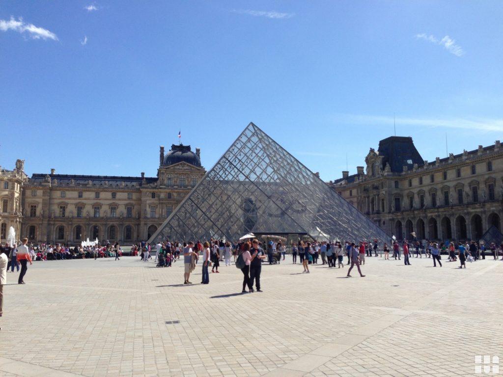 Ausstellung Deutschland und Europa Museum Louvre in Paris