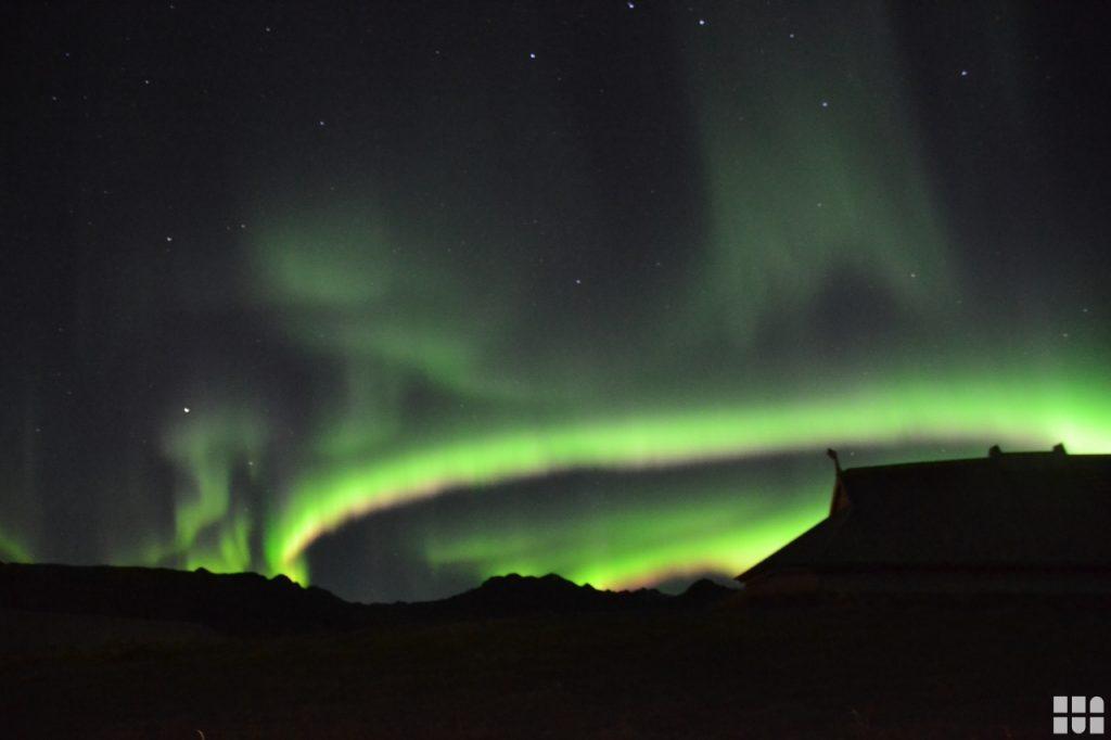 Naturphänomen Bild von Nordlichtern